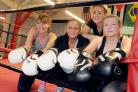 Revenge Boxing Cheshire members Kerry Dunn, Samantha Johnson, Elly Hamilton (coach) and Sally Powell are mounting an eight-hour charity Boxathon to raise funds for Cheshire Without Abuse