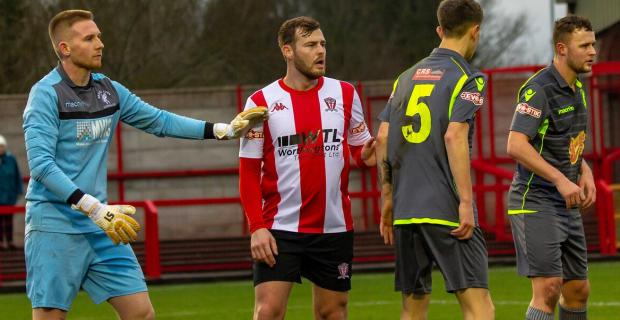 Northwich Guardian: Witton Albion have found Matlock Town to be obliging opponents since they returned to the Northern Premier League's top-flight, winning three of the four meetings between the teams. Picture: Karl Brooks Photography