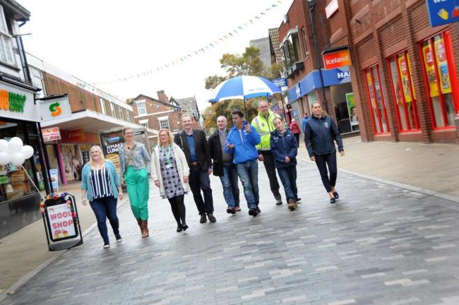 Great British High Street judging in Northwich last year
