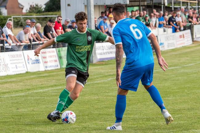 Mike Koral and his 1874 Northwich teammates start a new North West Counties League season buoyed by victory in the Macron Cup final and also by a series of promising friendly performances. Picture: Ian Dutton