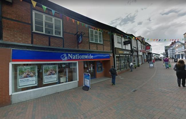 The former Nationwide branch in High Street. Google Maps