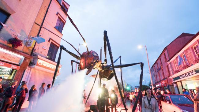 Insectes will be the finale of attractions at Now Northwich on Saturday, October 5
