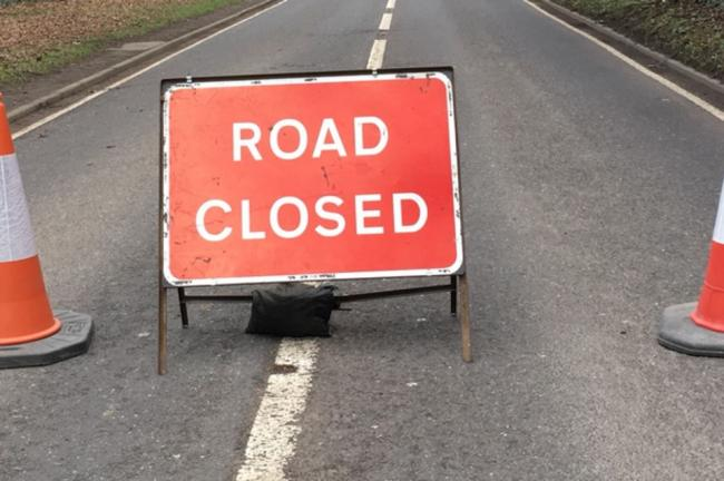 Winnington Lane set to be closed for roadworks tomorrow night