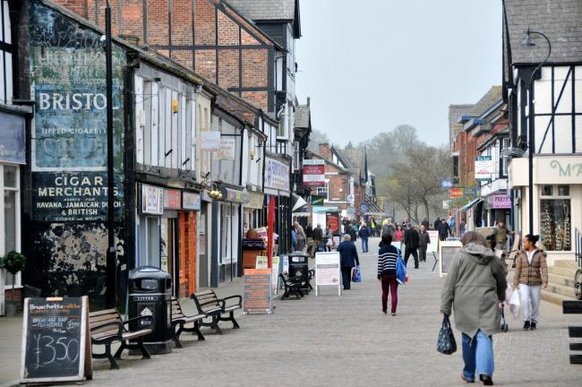 The scheme aims to make Northwich a plastic-free town