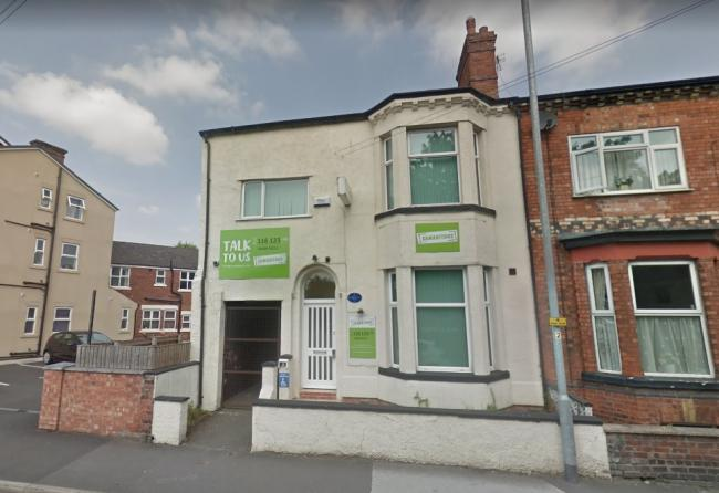 Mid Cheshire Samaritans in Manchester Road, Northwich