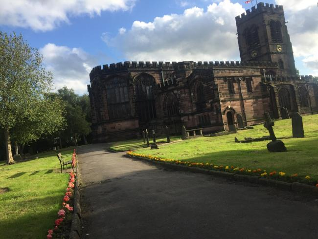 Get to know historic St Helen Witton Church through free poetry day this weekend