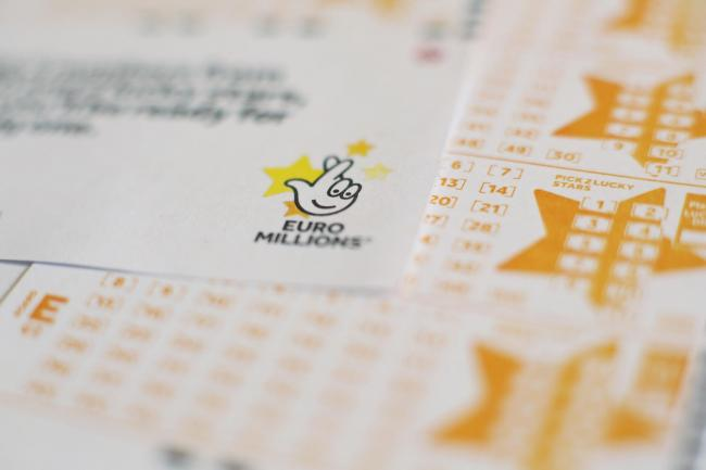National Lottery EuroMillions ticket (Yui Mok/PA)