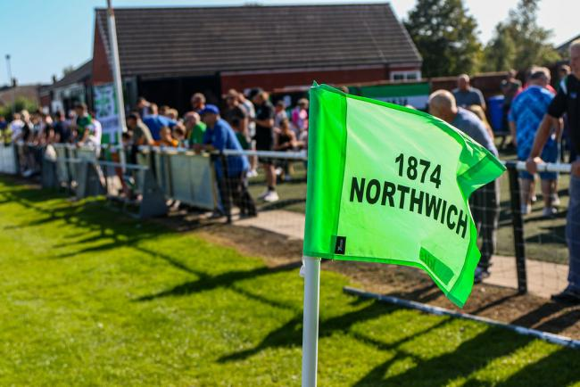 1874 Northwich match day at Townfield. Picture: Karl Brooks Photography