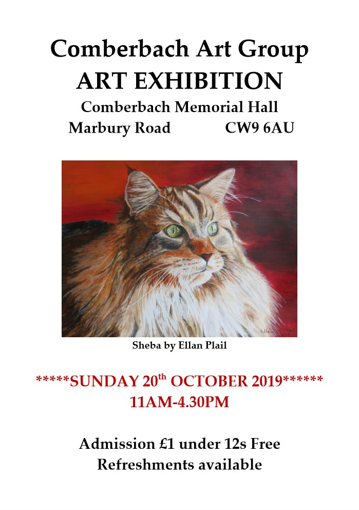 Comberbach Art Group Exhibition