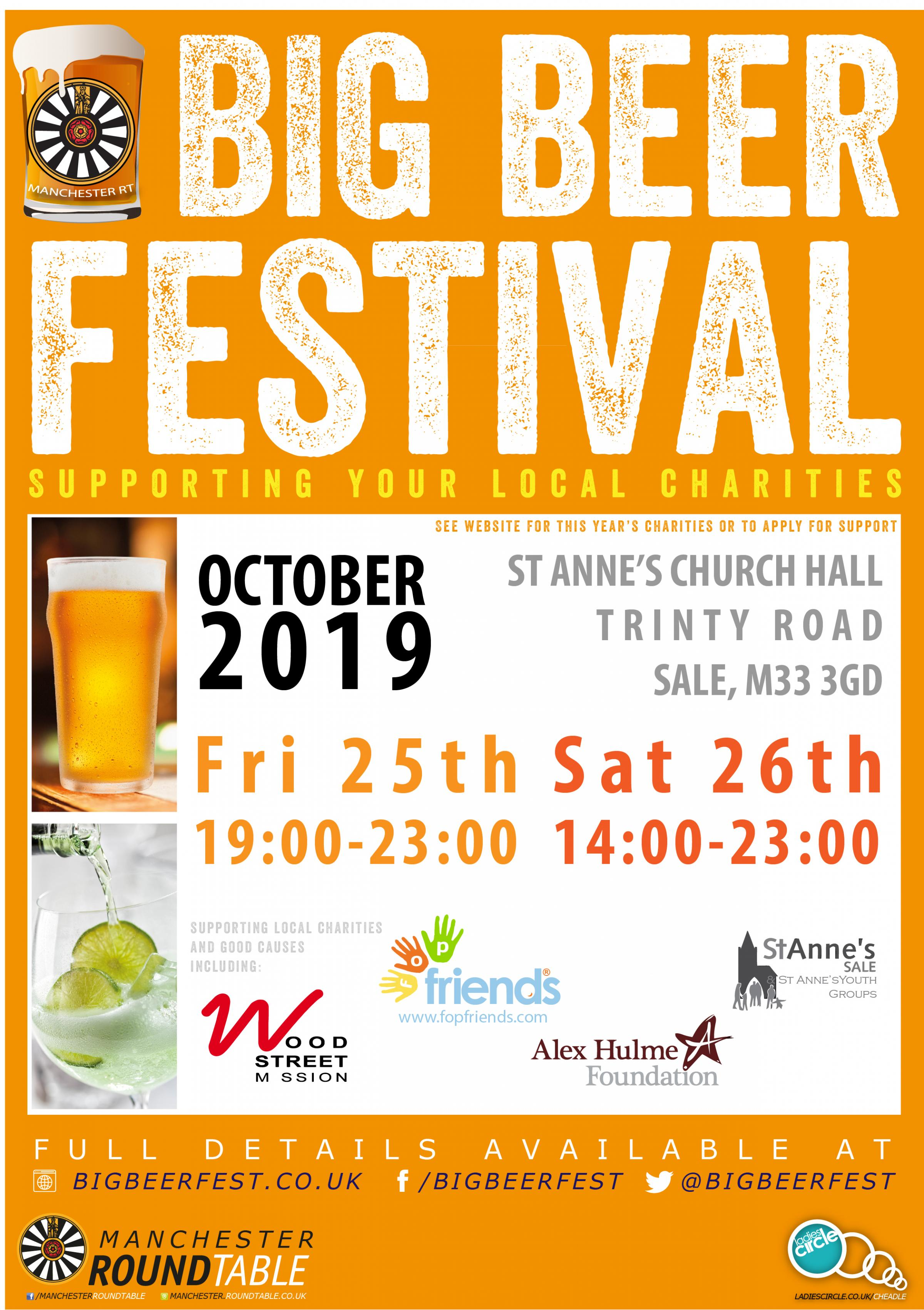 Manchester Round Table Big Beer Festival 2019