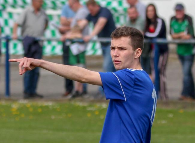 Joe Duckworth, representing Winsford United. Picture: Kevin Wright