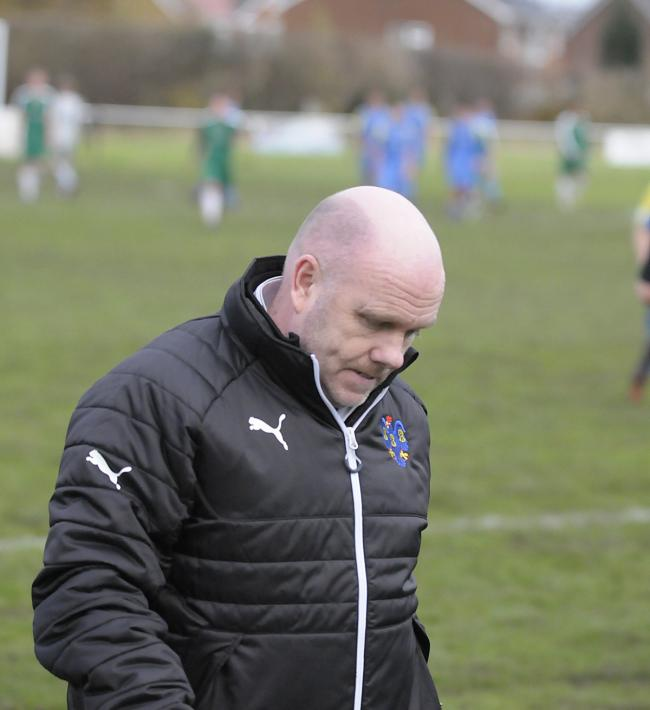 Vics boss Steve Wilkes. Picture by Mike Boden
