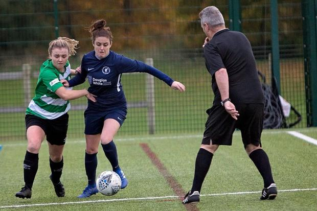 Northwich Vixens v Liverpool Marshalls Fed, Women's FA Cup. Pictures: Angela Buckley
