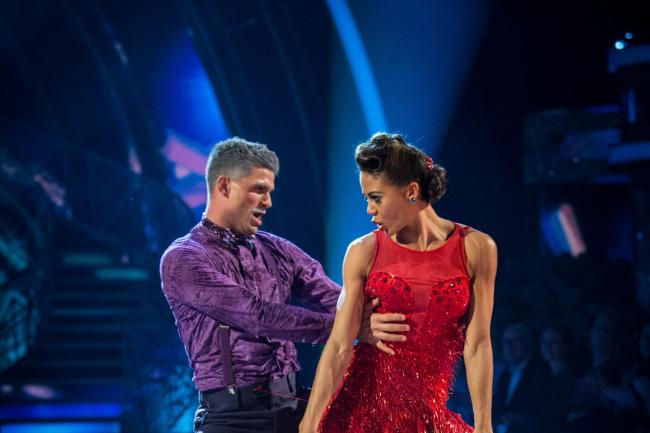 Aljaz Skorjanec and Viscountess Emma Weymouth on Strictly