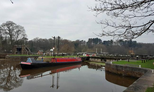 The body of George Burns was found at Vale Royal Locks