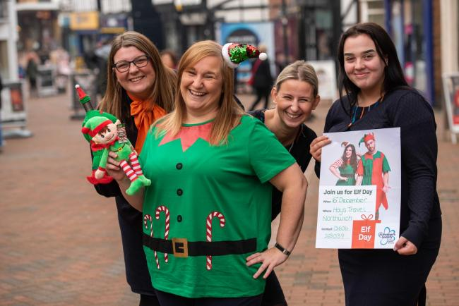 Hays Travel Northwich Christmas elves