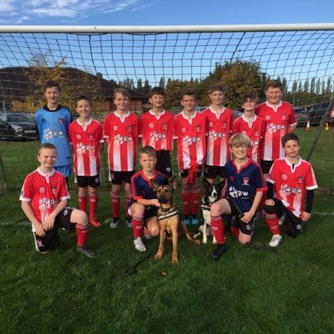 Witton Albion under 12s football team