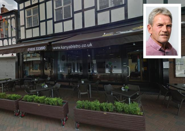 The comments from Witton Cllr Sam Naylor (inset) came following an open letter from the owners of Kanya bistro