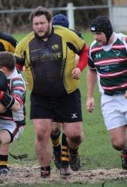 Northwich Rugby Club's Chris Bradshaw