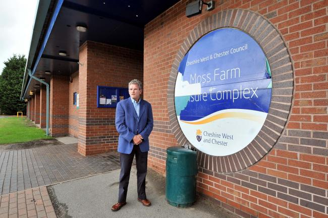 Cllr Sam Naylor says that investment could transform Moss Farm into the 'jewel in the town's crown'