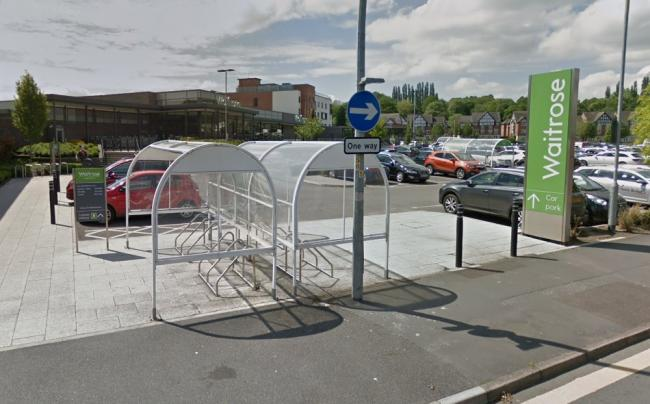 The incident involved a cash machine outside Waitrose on London Road (Credit: Google Maps)