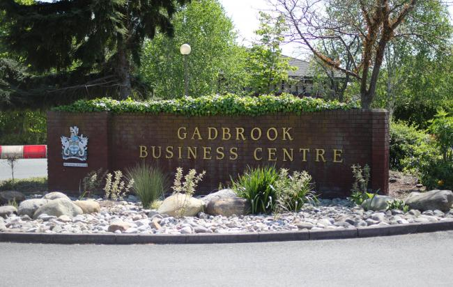 Gadbrook Park business centre has benefited from planting, litter picking, security upgrades and staff training