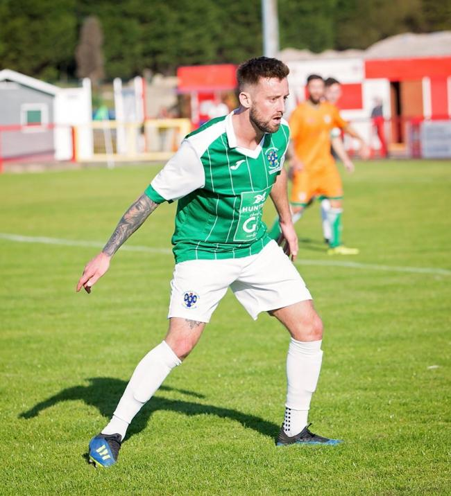 Matty Clarke, Northwich Victoria's current longest serving player. Picture: Angela Buckley