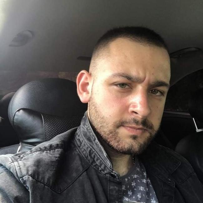 Metin Mustafov, 24, who died following a crash on  the A559 Northwich Road in Whitley