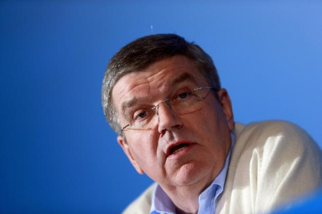 IOC president Thomas Bach held a briefing with reporters on Wednesday