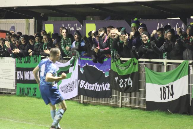 the passion from the fans matched by the love from the players. Picture: Frank Oakes