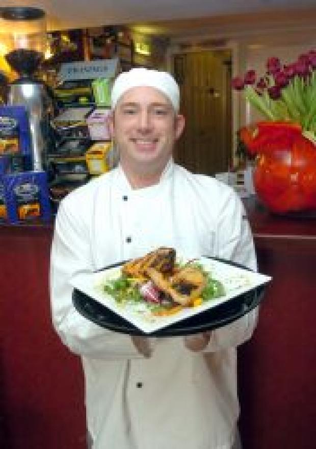 Jason Tanfield serves up another tasty treat at Kandi.