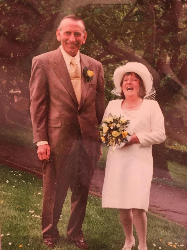 My Mum and Dad (Sharon and Alan Cooper) celebrated their 20th Wedding Anniversary on Wednesday 20th May 2020 in lockdown.   Well done to you both from Mary, love you both loads xxxx
