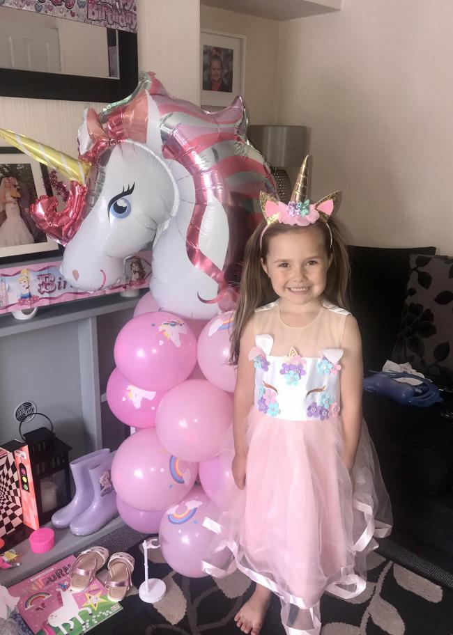 Brooke celebrated her 6th Birthday on 11th May.