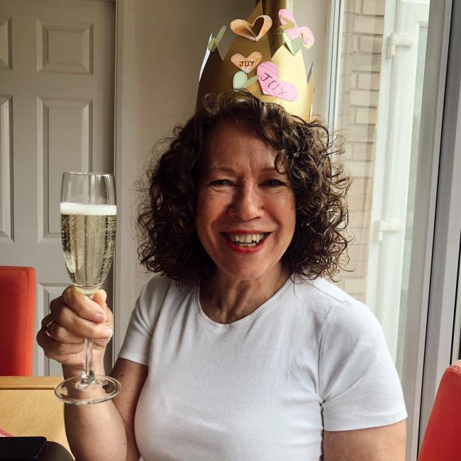 Joy Williams, celebrating her 70th birthday on 1st May - we love you all millions and cant wait to celebrate with you in person. Xxx