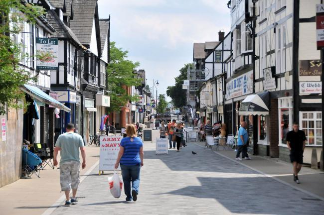 Businesses in Northwich are preparing to reopen in June following Prime Minister Boris Johnson's latest announcement