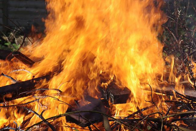 Controlled fires can spread without warning