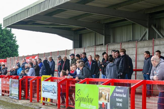 Over three months since fans gathered at Wincham Park to watch a Witton Albion football match. Picture: Karl Brooks Photography