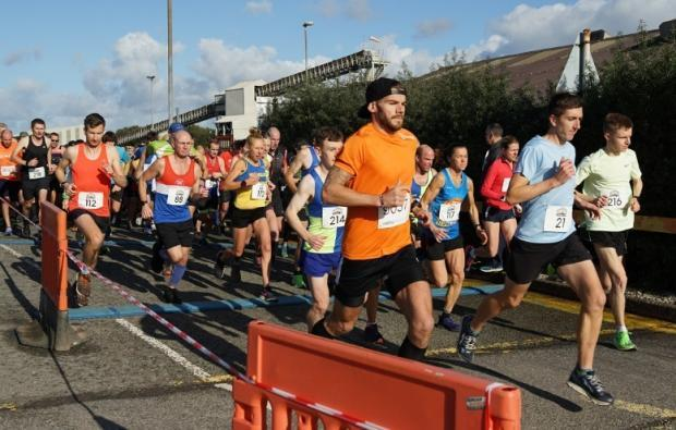 Runners are expected to be able take part in this year's Winsford 10k in October. This picture was taken at last year's community run Picture Mick Hall