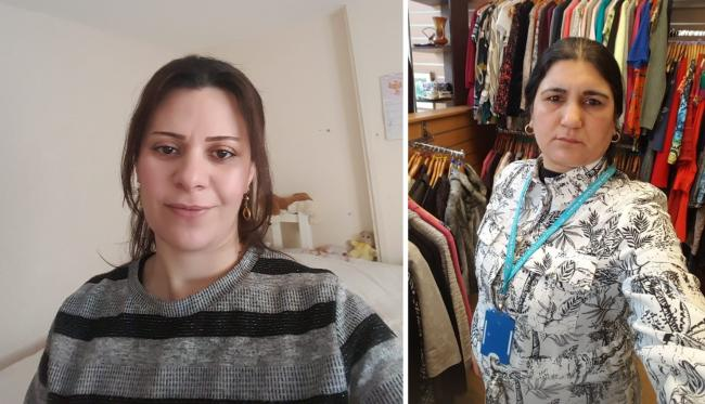 Midia and Falak both moved to west Cheshire as part of the Syrian Vulnerable Person Resettlement Programme