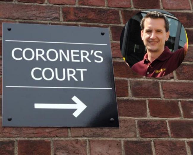 Taxi driver Jamie Appleton's inquest was heard at Warrington Coroner's Court