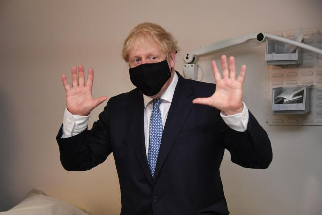 Different views: Some say 'Boris Johnson has done a good job combating the virus' I'd say that not one fact supports that assertion. Photo: PA