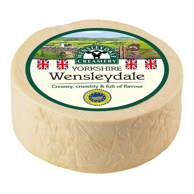 Northwich Guardian: Wensleydale cheese. Picture credit: Wensleydale Creamery