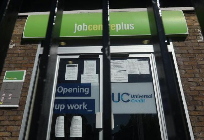 The number of unemployment benefit claims has soared since March. Image: PA