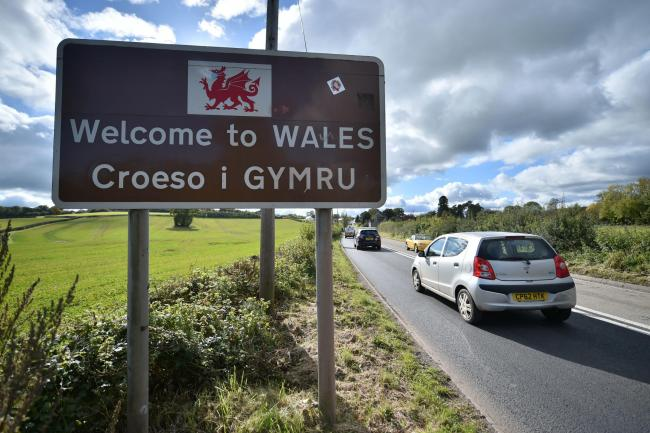 Residents in high coronavirus level areas could soon be banned from travelling to Wales. Image: PA