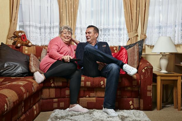 Northwich Guardian: Jenny and Lee. Picture: Channel 4