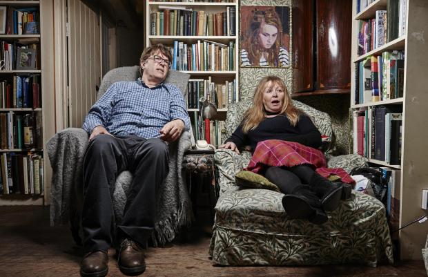 Northwich Guardian: Giles and Mary. Picture: Channel 4