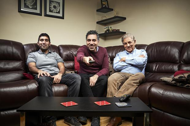 Northwich Guardian: The Siddiqui family. Picture: Channel 4