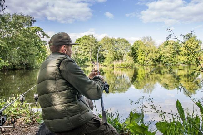 Angling has been on the rise this year