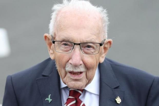 Northwich Guardian: Captain Sir Tom Moore