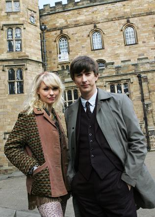 Lee Ingleby, right, will be appearing in the show. Pictured with Myanna Buring